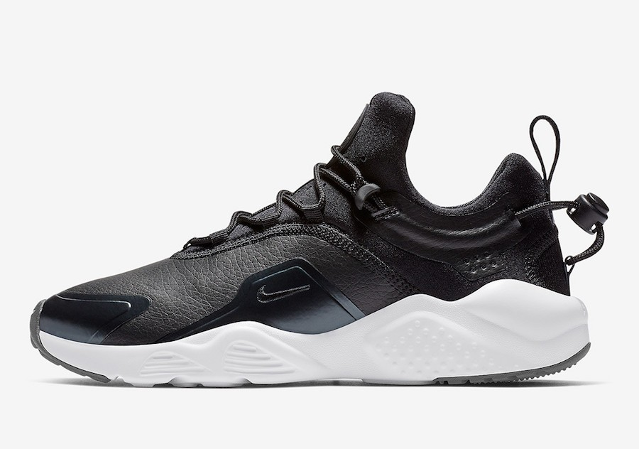 Nike Air Huarache City Move Premium (Negras/Blancas) AO3171-001