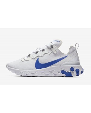 Nike React Element 55 SE (Blancas/Game Royal) BQ6167-100