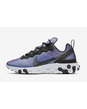 Nike Mujer React Element 55 PRM (Negras/Laser Fuchsia/Blancas) CD6964-001