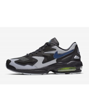 premium selection 474f7 67c12 Nike Air Max2 Light (Negras Thunderstorm Grises) AO1741-002 ...