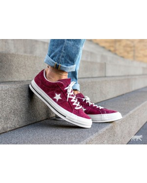 Converse One Star Ox (Burgundy/Blancas) 158370C