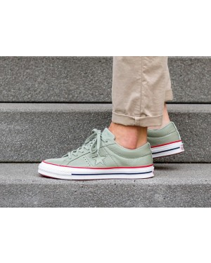 Converse One Star Ox (Surplus Sage/Rojas/Blancas) 160625C
