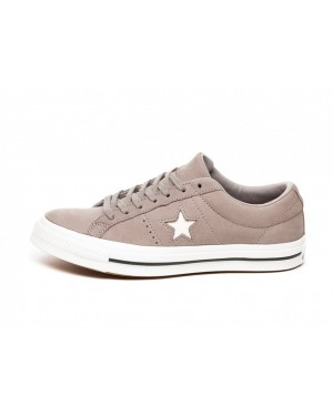 Converse One Star Ox (Grises/Blancas) 162615C