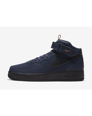 Nike Air Force 1 Mid (Obsidian/Dusty Peach/Negras) BQ4592-400