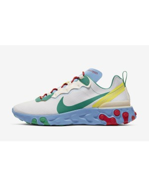 Nike React Element 55 SE (Guava Ice/Grises/Rojas/Verde) CT1142-800
