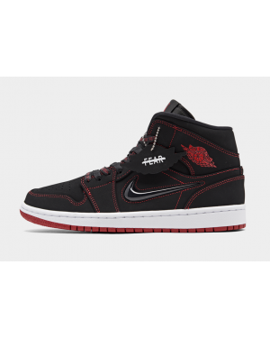 "Air Jordan 1 Mid ""Come Fly With Me"" (Negras/Rojas/Blancas) CK5665-062"