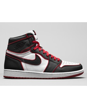 "Air Jordan 1 High OG ""Bloodline"" (Negras/Rojas/Blancas) 555088-062"