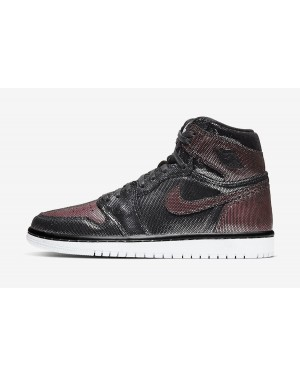 "Air Jordan 1 High OG Mujer ""Fearless"" (Negras/Rose Gold) CU6690-006"