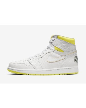 "Air Jordan 1 High OG ""First Class Flight"" (Blancas/Amarillas/Negras) 555088-170"