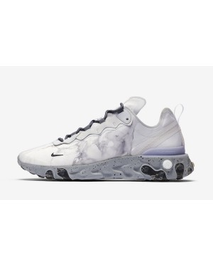 Kendrick Lamar x Nike React Element 55 (Pure Platinum/Grises/Negras) CJ3312-001