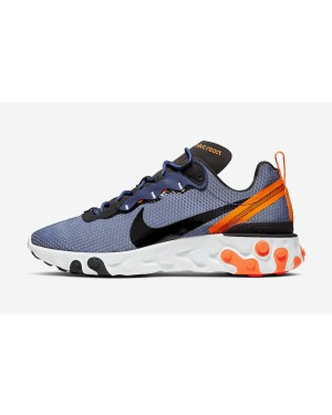 Nike React Element 55 SE (Midnight Navy/Naranjas/Blancas) CI3831-400