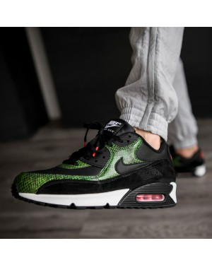 "Nike Air Max 90 ""Green Python"" (Negras/Negras-Cyber) CD0916-001"