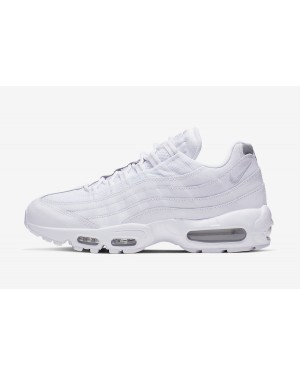 Nike Air Max 95 Essential (Blancas/Plateadas) AT9865-100