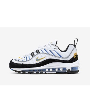 Nike Air Max 98 GS (Blancas/Negras) CJ7393-100