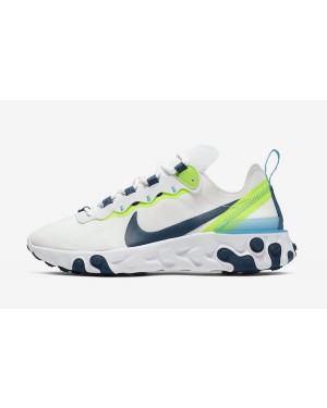 Nike React Element 55 (Blancas/Volt/Verde) BQ2728-102