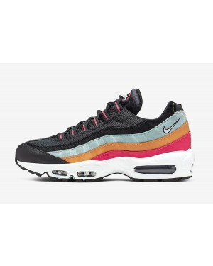 Nike Air Max 95 Essential (Negras/Blancas-Ocean Cube) AT9865-002