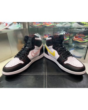 Air Jordan 1 High OG Defiant (Blancas/Negras-Rojas-Amarillas) CD6579-071