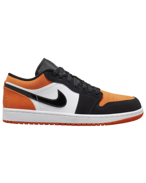 Air Jordan 1 Low (Blancas/Negras-Starfish) 553558-128