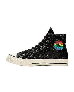 Converse Chuck 70 High Top Pride (Negras/Multicolor) 165713C