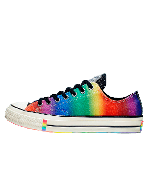 Converse Chuck 70 Low Top Pride (Multi/Blalck) 165714C