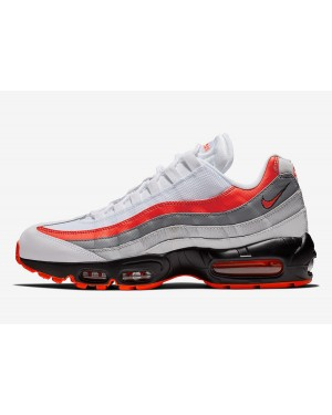 Nike Air Max 95 (Blancas/Bright Crimson) 749766-112