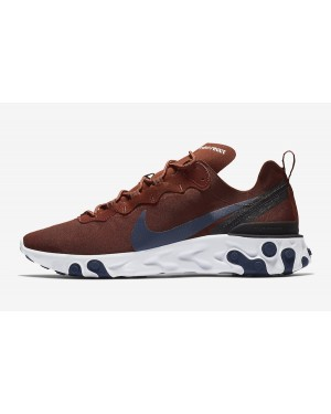 Nike React Element 55 (Marrones/Blancas/Azul) BQ6166-600