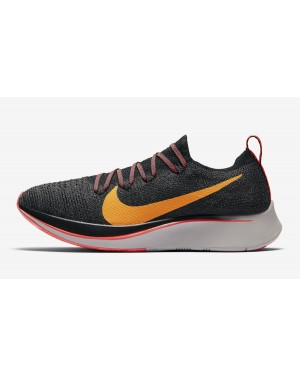 Nike Zoom Fly Flyknit (Negras/Flash Crimson/Naranjas) AR4562-068