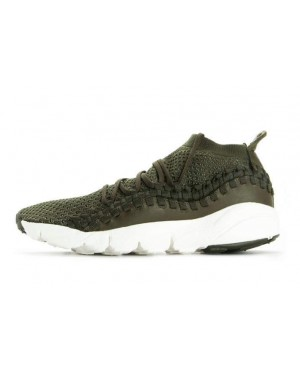 Nike Air Footscape Woven NM Flyknit (Cargo Khaki/Dark Stucco/Verde) AO5417-300