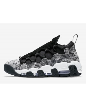 Nike Air More Money LX (Negras/Blancas/Metallic Pewter) AJ1312-003