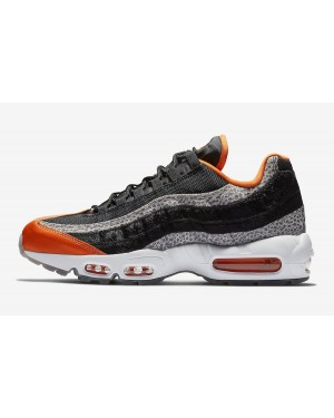 "Nike Air Max 95 ""Safari"" (Negras/Granite/Naranjas) AV7014-002"