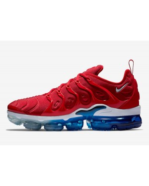 "Nike Air VaporMax Plus ""USA"" (Tea Berry/Bordeaux/Metallic Silver) 924453-601"