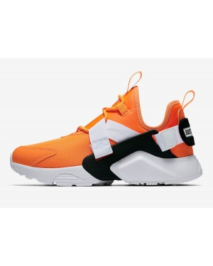 "Nike Air Huarache City Low ""Just Do It"" (Naranjas/Blancas/Negras) AO3140-800"