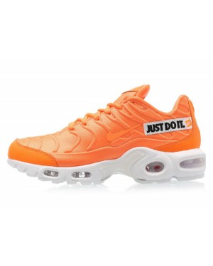 "Nike Air Max Plus ""Just Do It"" (Naranjas/Blancas/Negras) 862201-800"