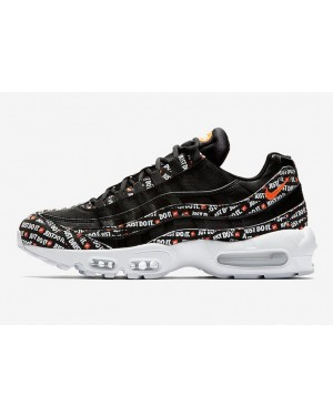 "Nike Air Max 95 ""Just Do It"" Pack (Negras/Blancas/Naranjas) AV6246-001"