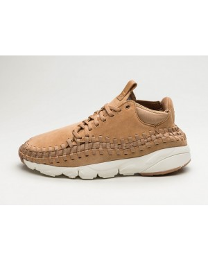 Nike Air Footscape Woven Chukka (Flax/Marrones) 443686-205