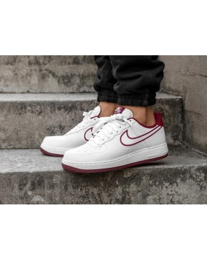 Nike Air Force 1 '07 Leather (Blancas/Rojas) AJ7280-100