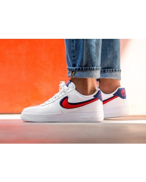 Nike Air Force 1 '07 LV8 (Blancas/Rojas/Azul) 823511-106