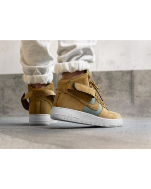 Nike Air Force 1 Hi '07 PRM (Wheat/Khaki/Light Bone/Amarillas) 525317-700