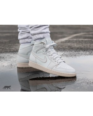 Nike Air Jordan 1 Retro High Premium (Pure Platinum/Desert Sand) AA3993-030
