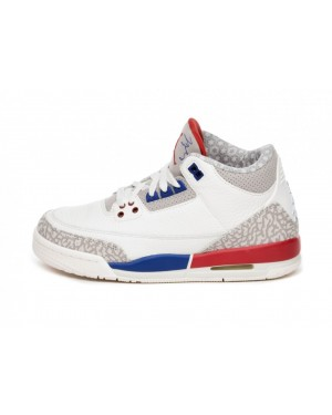Nike Air Jordan 3 Retro GS *Charity Game* (Sail/Sport Royal/Rojas) 398614-140