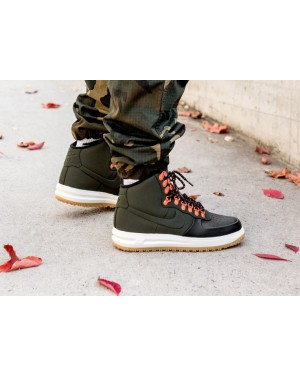 Nike Lunar Force 1 Duckboot '18 (Negras/Sequoia/Sail/Marrones) BQ7930-004