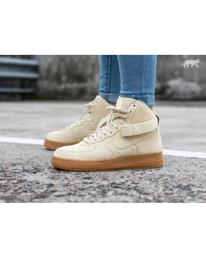 Nike Mujer Air Force 1 Hi SE (Muslin/Marrones/Ivory) 860544-100