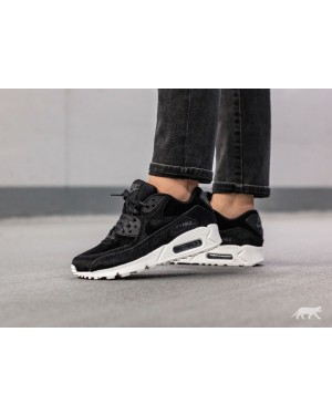 Nike Mujer Air Max 90 LX (Negras/Negras/Grises oscuro/Sail) 898512-006
