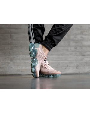 Nike Mujer Air Vapormax Flyknit 2 (Beige/Smokey Mauve/Verde) 942843-203