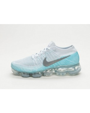 Nike Mujer Air Vapormax Flyknit (Pure Platinum/Metallic Silver) 849557-014