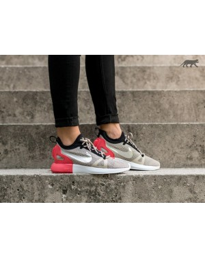 Nike Mujer Duel Racer (String/Chrome/Blancas/Light Charcoal) 927243-201