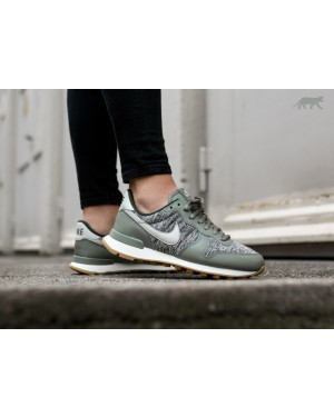 Nike Mujer Internationalist (Dark Stucco/Light Bone/Sequoia) 828407-022