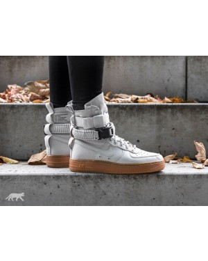 Nike Mujer SF Air Force 1 (Light Bone/Marrones) 857872-004