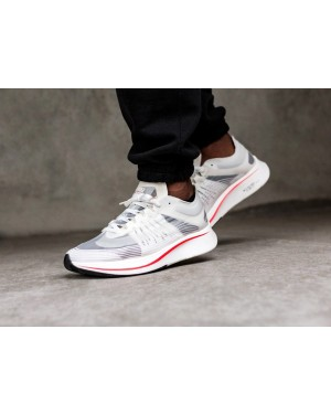 Nike Zoom Fly SP (Blancas/Sail/Bright Crimson) AJ9282-106