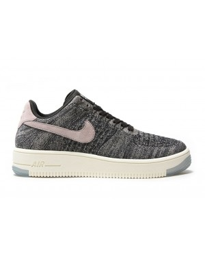 Nike Mujer Air Force 1 Flyknit Low (Midnight Fog/Rojas/Ivory/String) 820256-008